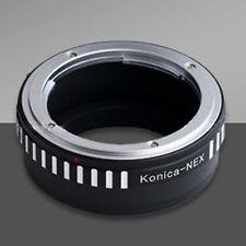 Konica AR Lens to Sony E mount NEX-6 NEX-7 adapter alpha A6000 A5100 A6300 A6500