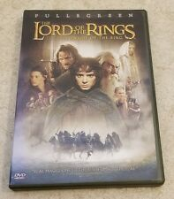 The Lord of the Rings: The Fellowship of the Ring (DVD, Fullscreen)