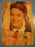 Romy Schneider.Robinson IFB Filmprogramm 1950.Jahre.Nr.3620-Movie program