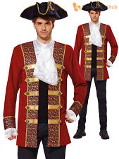 Bristol Novelty AF009 Pirate Coat Red 42 - 44-inch