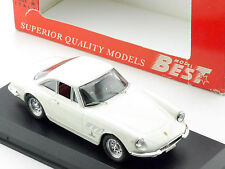 Best 9099 Ferrari 330 GTC 1966 Bianco 1/43 mint car box OVP 1601-07-09