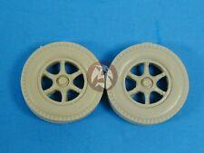 Tank Workshop 1/35 Sd.Kfz.7 Half-track Spoke Wheels (Civilian Pattern) 353029