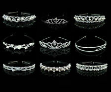Bride Bridal Tiara Rhinestone Sparkling Headband Wedding Day Hair Accessory