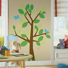 DOTTED TREE wall sticker MURAL 48 decals 68 inches tall room decor nursery