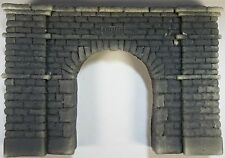 TUNNEL PORTAL SINGLE TRACK STONE BLOCK HO CAST FOAM ATHERTON SCENICS (#4159)