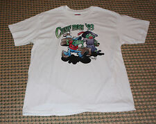 Tee Shirt -  Size L - By Mangan?? Crusin' Frogs '93