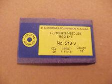 C.S. Osborne #518 Glovers Needles Size 3 (Pack of 25) Leathercraft