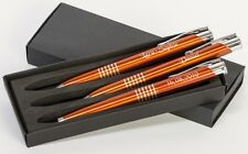 3 tlg Schreibset mit Wunschgravur, Füller, Bleistift, Kugelschreiber, Neu GKS08