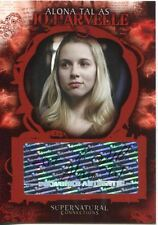Supernatural Connections Autograph Card  A-7 Alona Tal as Jo Harvelle