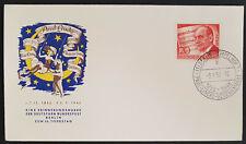 Berlin Mi.Nr. 156 Ganzsache Ersttagsbrief FDC 10. Todestag Paul Lincke