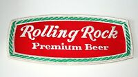 Vintage Rolling Rock Beer Brewing Distributor Jacket Patch 1960s NOS New Mint