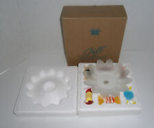 Avon Gift Collection's European Style Glass Candy with Dish 2001