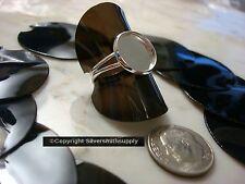 10 Finger Ring Displays Black Flexible Plastic Ring Display Ring Stands Jd021