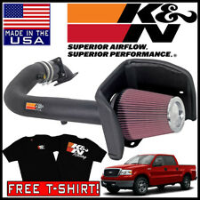 Filter 09-10 Ford F150 07-14 Expetition Lincoln Navigator 5.4L V8 Velocity Concepts 4 Blue Heat Shield Cold Air Intake Induction Kit