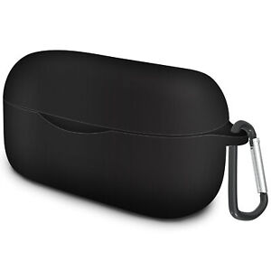 Geekria Silicone Case Cover for Anker Soundcore Life Dot 2 Earbuds (Black)