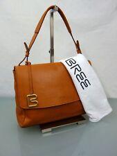 549€ BREE Stockholm 36 (whisky) Handtasche Leder Tasche Schultertasche Bag Braun