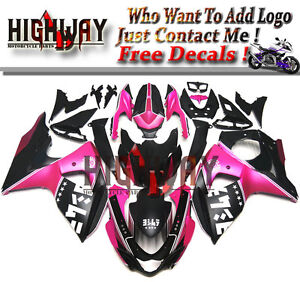 Motorcycle ABS Fairings Body Work Kits Set fit Suzuki GSXR1000 2009-2014 Black