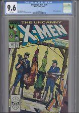 Uncanny X-men #236 CGC 9.6 1988 Marvel Comic: Ms. Marvel App! NEW CGC FRAME
