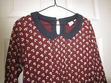 Free shipping !(M/s) Orla Kiely Uniqlo DressTunic 3/4 Sleeve  Worn once !!