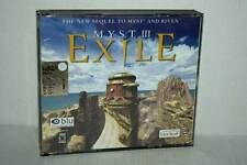 MYST III EXILE GIOCO USATO PC CDROM VERSIONE ITALIANA RS2 40948