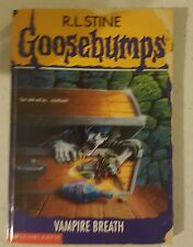 Goosebumps #49 - Vampire Breath by R.L. Stine (Paperback) Free Post! RARE