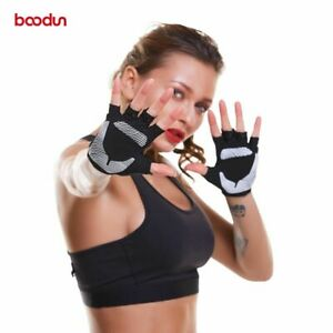 Women Fitness Yoga Gloves Breathable Protector Pad Weight Lifting Sport Gym Glov