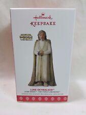 2017 Hallmark Keepsake Ornament Luke Skywalker Star Wars The Force Awakens #21