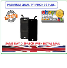 "iPhone 6Plus (5.5"")Black LCD Display Touch Screen Digitizer.PREMIUM QUALITY UK."