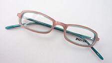 Brille Fassung Brillengestell Halbbrille klein schmal rose türkis Damen size M