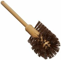 "Rubbermaid Commercial Commercial-Grade Toilet Bowl Brush 17"" Long Plastic Handle"