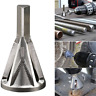 Deburring External Chamfer Tool Stainless Steel Remove Burr Silver Drill Bit US.