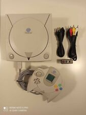 Sega Dreamcast + gdemu + sd + blu led + battery holder + pad + vmu