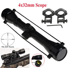 Rifle Scope Air Tactical Red /Green Illuminated Optics Sniper Scope Sight 4X32mm