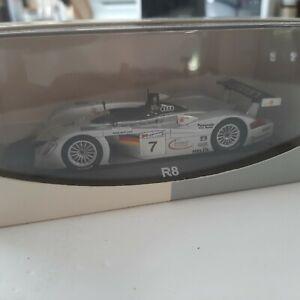1/43 Minichamps/Audi - Audi R8 #7 - Le Mans 2000 3rd .
