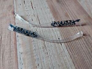 DILEM Branches de lunettes noires blues