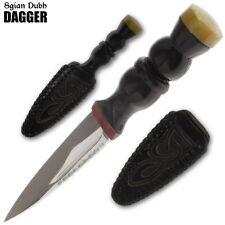 """Celtic Scottish Sgian Skean Dubh Dirk Dagger 6.75"""" Knife"""