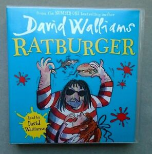 LIKE NEW! RATBURGER by DAVID WALLIAMS 3 CD UNABRIDGED AUDIOBOOK FREE P&P!