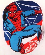 "Exclusive Marvel Walt Disney Brave Spider-Man Plush 15"" x 11"" Oval Pillow NWT"