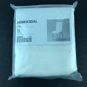 IKEA HENRIKSDAL CHAIR COVER SLIPCOVER GOBO WHITE 501.546.79 13289 HG55