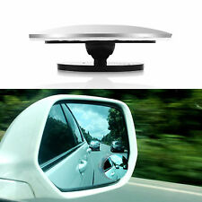 2X Car Rearview Mirror Blind Spot Side Rear View Convex Wide Angle 360° Rotation