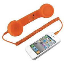 Pop Phone Orange Handset Headset iPhone To Retro Vintage Phone Native Union NEW