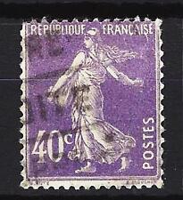 France 1927 type semeuse fond plein Yvert n° 236 oblitéré 1er choix (3)