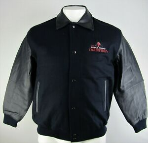 Philadelphia Phillies MLB G-III Men's Full-Button Leather Sleeved Wool Jacket