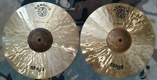 "Stagg 14"" Genghis Exo Medium Hi Hat Cymbals, EX Display"