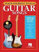 Teach Yourself to Play Come As You Are & 9 More Rock Hits - Guitar 000152224