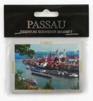 Passau Premium Souvenir Magnet,Deutschland Germany,Laser Optik !