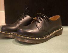 Dr. Marten's 1461 W - BLACK SMOOTH 5 - US Women's Size 5 - W5 - Brand New In Box