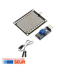 Módulo Sensor de Lluvia detector gotas de agua Módulo de Humedad para Arduino