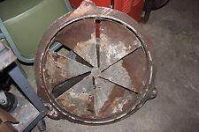 """Vintage Antique Industrial Explosion Proof Fan Llc Self Cooled Motor 60CM 24"""""""