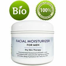 Men's Facial Moisturizing Cream Anti Wrinkle Anti Aging Moisturizer 100% NATURAL